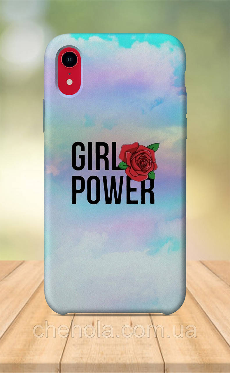 Чехол для apple iphone xr с принтом Милые Для Девочек Girl Power
