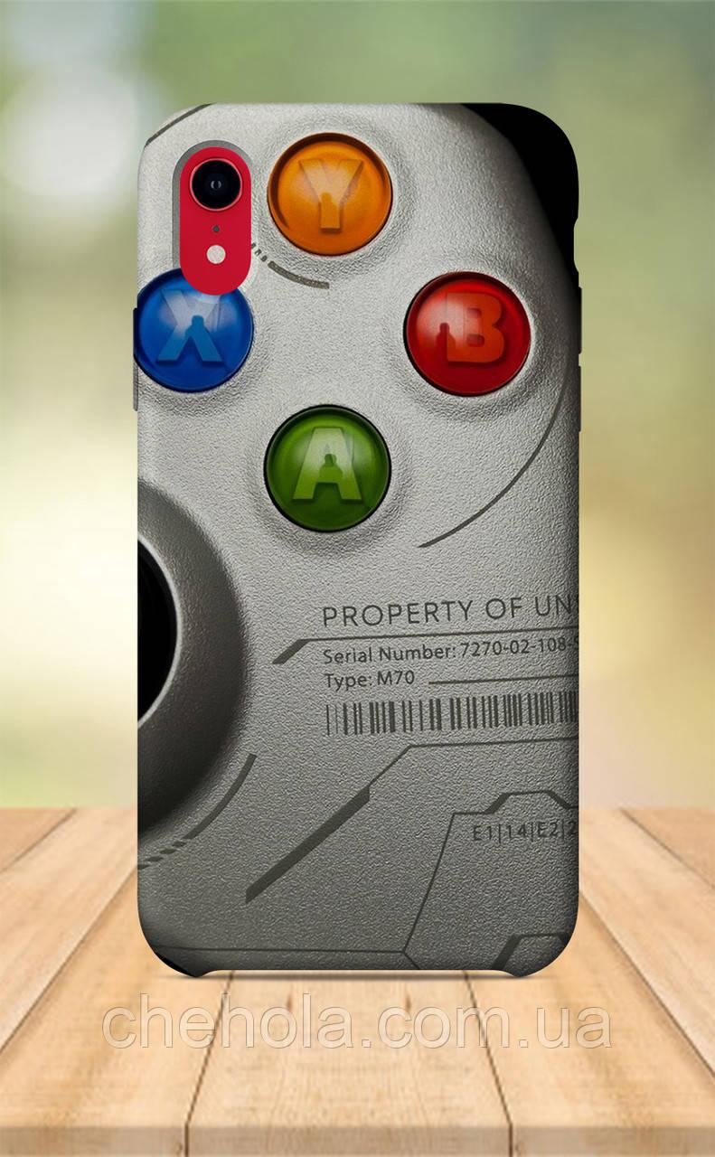 Чехол для apple iphone xr с принтом Games Игры Xbox