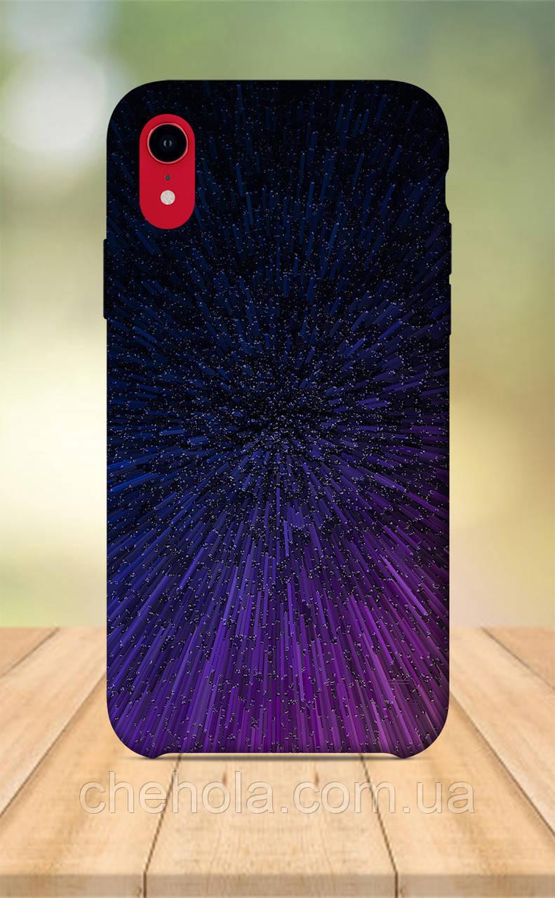 Чохол для apple iphone xr з принтом Космос Зірки