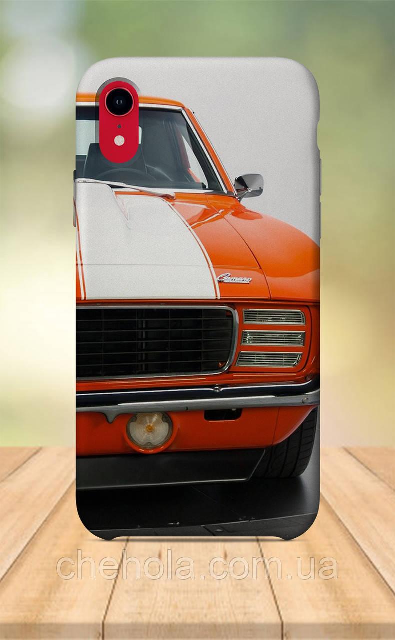 Чехол для apple iphone xr с принтом мужской авто muscle car