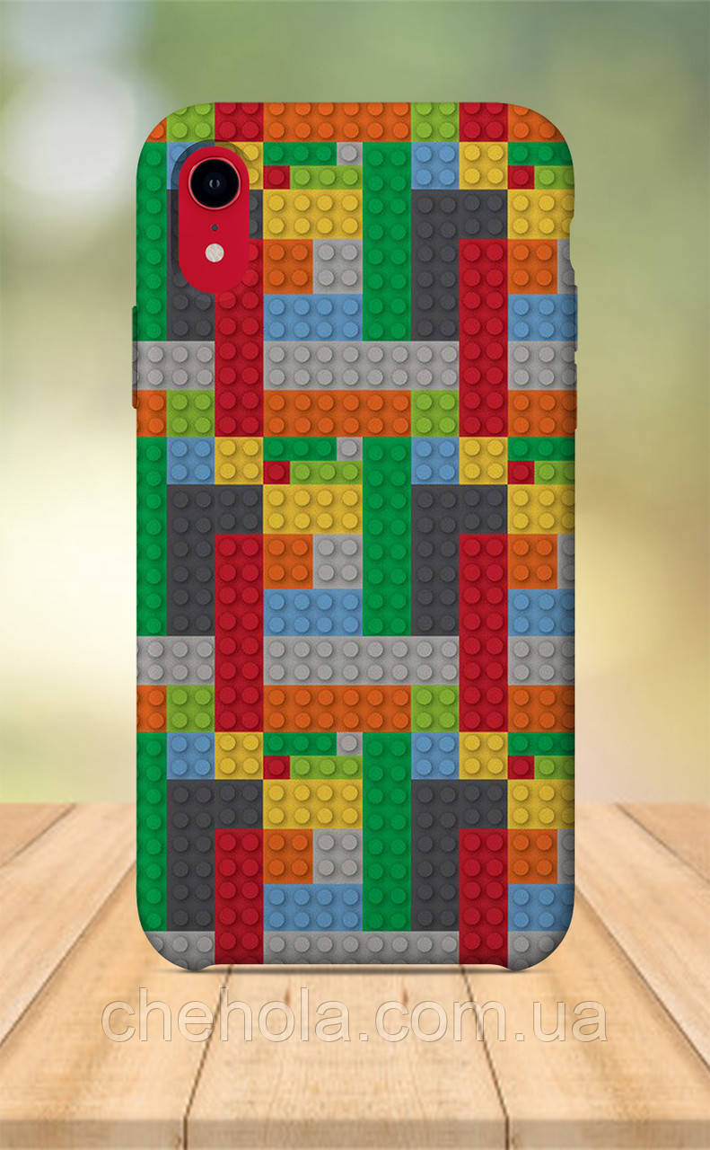 Чохол для apple iphone xr з принтом Текстура Фони У стилі лего