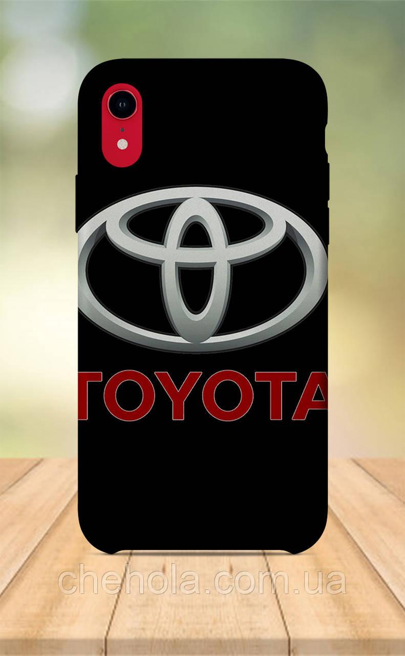 Чехол для apple iphone xr с принтом мужской авто toyota