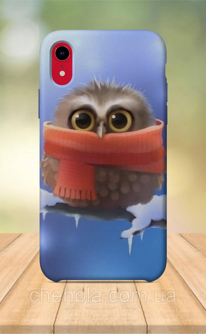 Чехол для apple iphone xr с принтом Арты Художественные Сова