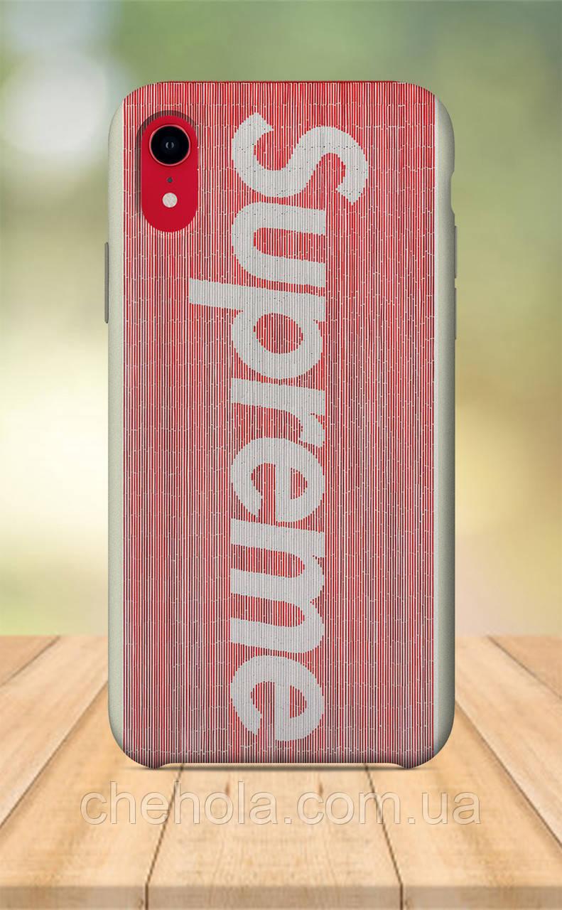 Чехол для apple iphone xr с принтом В стиле Supreme