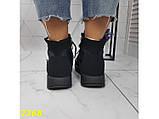 Дутики черевики зимові спортивні термоботинки на шнурівці 37 р. (2368), фото 2