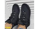 Дутики ботинки спортивные зимние термоботинки на шнуровке 37 р. (2368), фото 5