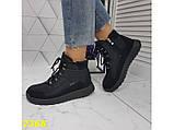 Дутики черевики зимові спортивні термоботинки на шнурівці 37 р. (2368), фото 6