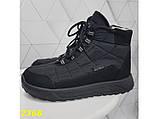 Дутики черевики зимові спортивні термоботинки на шнурівці 37 р. (2368), фото 7