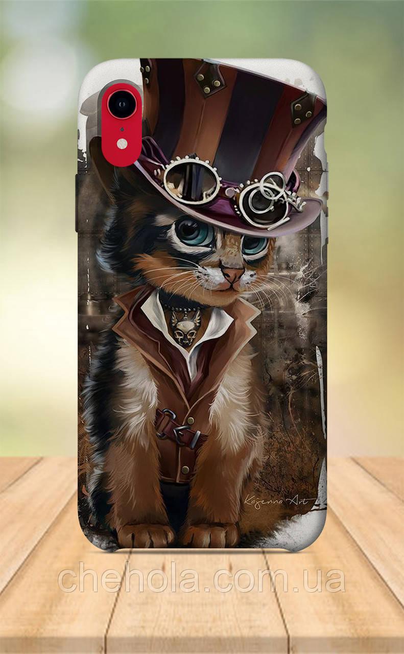Чехол для apple iphone xr с принтом Животные Кот
