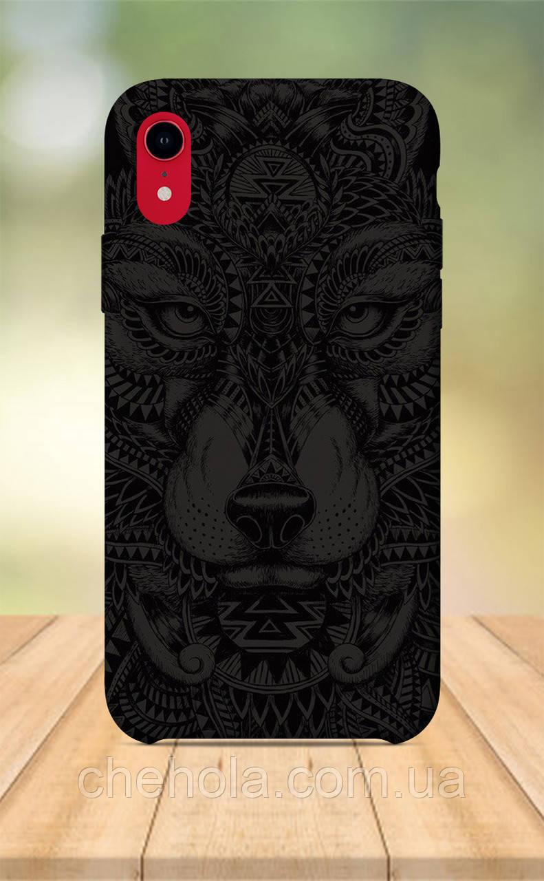 Чохол для apple iphone xr з принтом Тварини Вовк