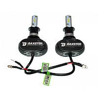 Комплект LED ламп BAXSTER S1 H3 5000K 4000lm с радиатором, фото 1