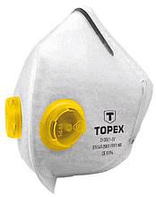 Маска защитная Topex, 2 клапан FFP1