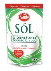 Йодированная морская соль 70% (морской соли, обогащение вещества: карбонат магния, калия йодид), калийной соли 30%.