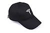 Кепка TESLA черная, бейсболка с лотипом авто  ТЕСЛА, фото 2