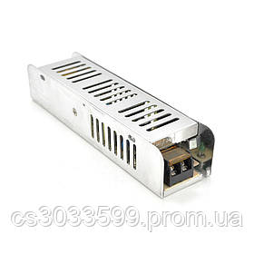 Імпульсний блок живлення Ritar RTPS12-60 SLIM 12В 5А (60Вт) перфорований
