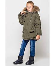 Куртка-парка  европейка  для мальчиков Торонто  на  4-6 лет, 116-122