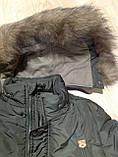 Зимняя куртка  для мальчика на 5-7 лет, фото 3