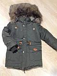 Зимняя куртка  для мальчика на 5-7 лет, фото 5