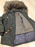 Зимняя куртка  для мальчика на 5-7 лет, фото 6