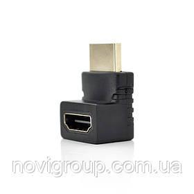 Перехідник HDMI 90градусів (тато-мама)