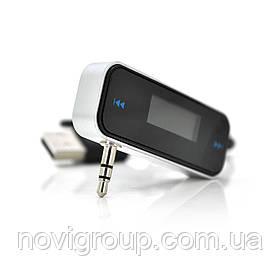Автомобільний FM-передавач T01, роз'єм jack 3,5 мм