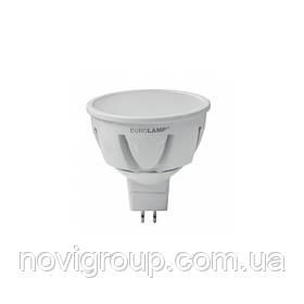 Лампа LED EUROLAMP TURBO NEW MR16 5W GU5.3 4000K 12V