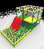 Детский многоуровневый Лабиринт Мегабум с горкой и сухим бассейном для парков и детских центров 478х235х240 см