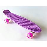 Пенни борд (пенниборд) 2211 Penny Board розовый, фото 5