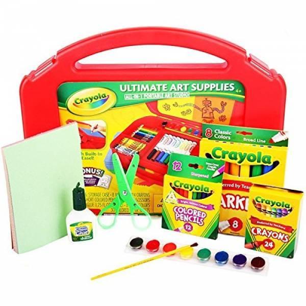Crayola Набір для творчості 85 предметів у валізці червоний Ultimate Art Case with Easel, 85 Pieces