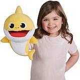 WowWee Pinkfong М'яка іграшка акула малюк жовта 61081 Pinkfong Baby Shark, фото 4