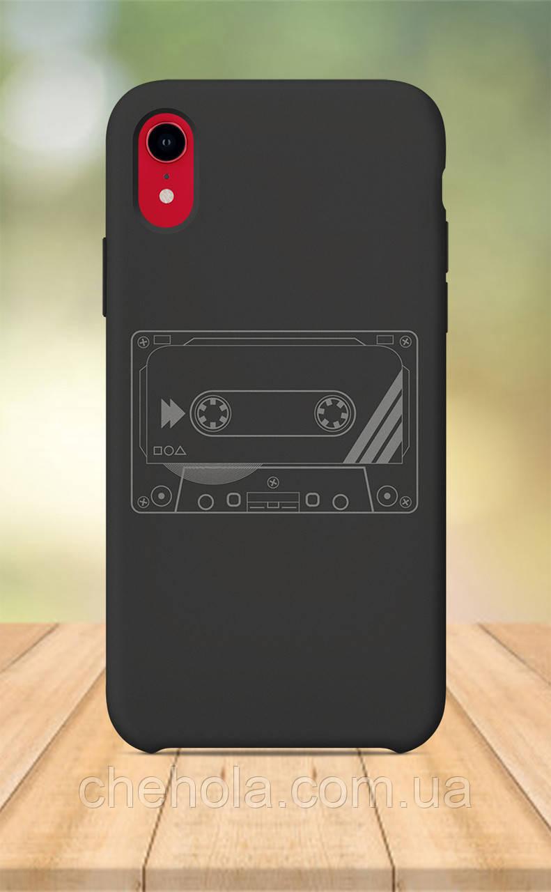 Чохол для apple iphone xr з принтом Стильні Касета