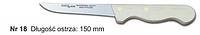 Нож № 18 обвалочный для мяса 150 мм