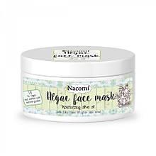Маска для лица альгинатная увлажняющая с оливковым маслом Nacomi Algae Face Mask 42 г (5901878689210)