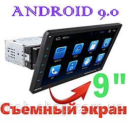 "1 din Автомагнитола пионер Pioneer 9010A 1дин 9"" Android 9.0 GPS + WiFI + Bluetooth сенсорный экран"