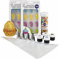 Wilton Набір для прикраси капкейків Метелики Butterflies Cupcake Decorating Kit