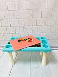 Игровой столик - песочница с конструктором арт. 669-15, фото 3