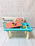 Игровой столик - песочница с конструктором арт. 669-15, фото 4