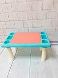 Игровой столик - песочница с конструктором арт. 669-15, фото 5