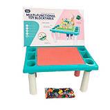 Игровой столик - песочница с конструктором арт. 669-15, фото 7