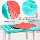 Игровой столик - песочница с конструктором арт. 669-15, фото 9