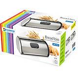 Хлебница кухонная нержавеющая сталь Rainbow 2 в 1, фото 2