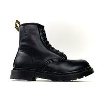 Dr Martens 1460 Triple Black (Мех) (Черный)
