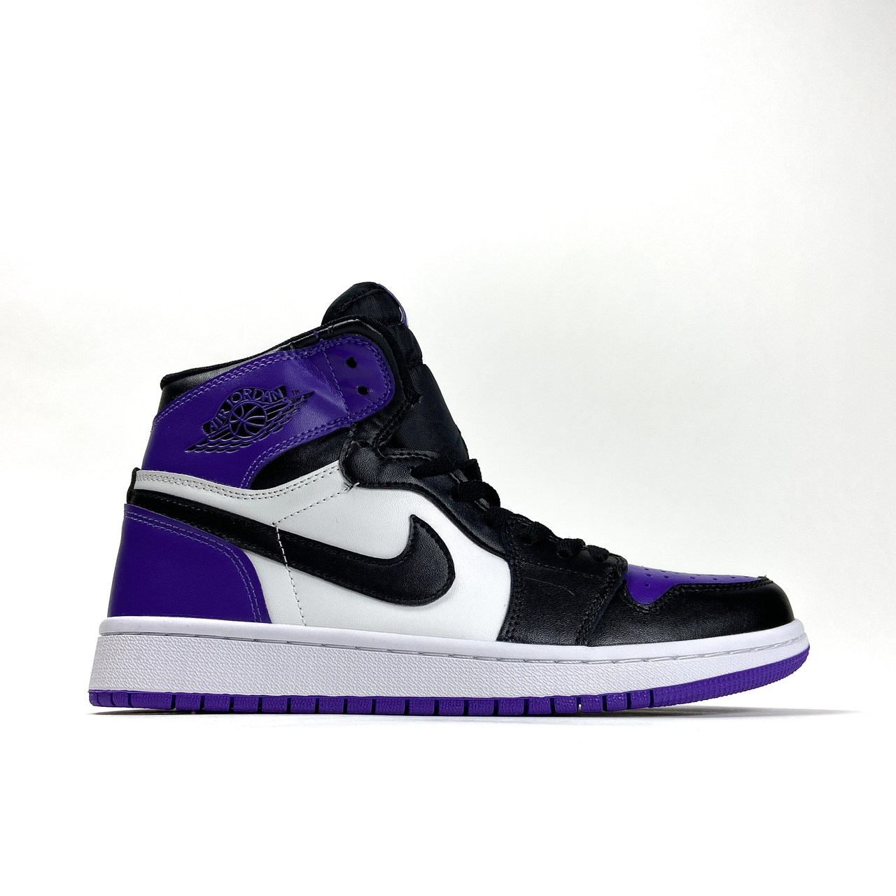 Nike Air Jordan 1 White Violet (Фиолетовый)