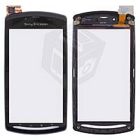 Touchscreen (сенсорный экран) для Sony Ericsson R800/Z1 c передней панелью, оригинал