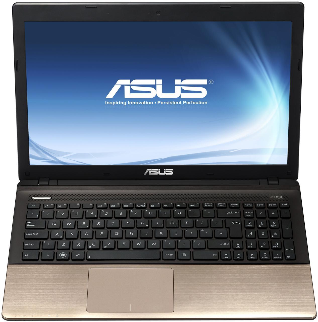Ноутбук ASUS K55VJ-Intel Core i5-3210M-2.5GHz-4Gb-DDR3-320Gb-HDD-W15.6-Web-NVIDIA GeForce GT635M(2Gb)-(B)- Б/У