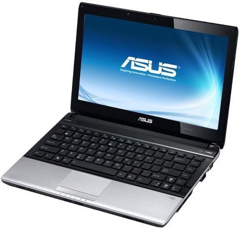 Ноутбук ASUS U31F-Intel Core-I3-370M-2.40GHz-4GB-DDR3-320GB-HDD-W13.3-Web-(B)- Б/У