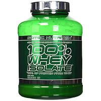 Протеин Scitec 100% Whey Isolate, 2 кг Клубника СРОК 12.20