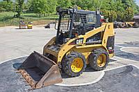 Мини погрузчик Caterpillar 216 S , новый дизельный двигатель , 2003 год , 635 кг