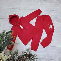 Трикотажный костюм на флисе 081 размеры 98 104 110 116, фото 1