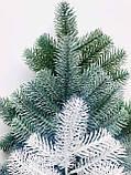 Декор еловая ветка из литой хвои (зелёная) Акция!, фото 2